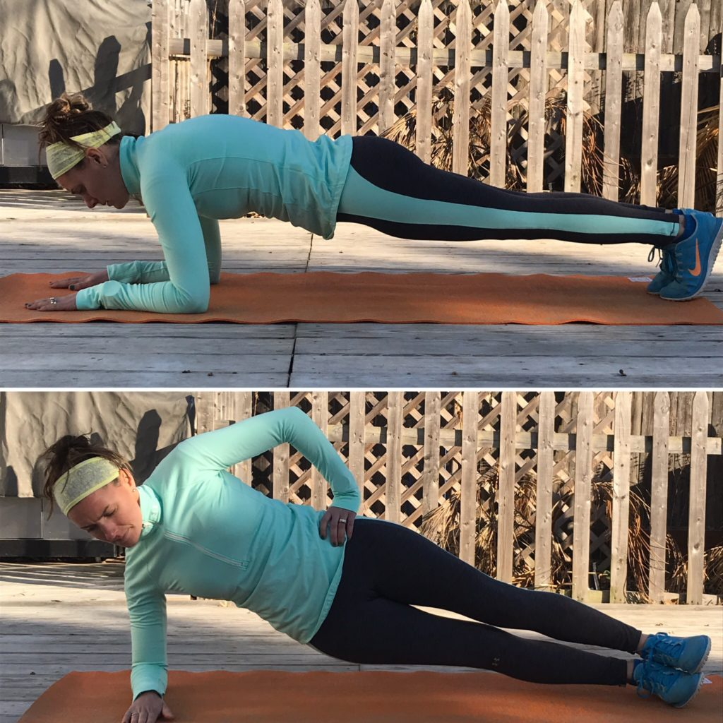 Start the New Year Now: 30 Day Plank Challenge -